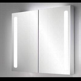 Bad Spiegelschrank Aluminium