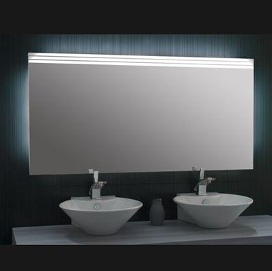 badspiegel mit licht 302827. Black Bedroom Furniture Sets. Home Design Ideas