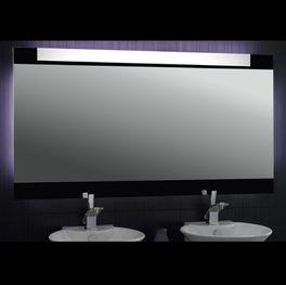 Badspiegel beleuchtet