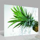 Glasbild Ananas 001