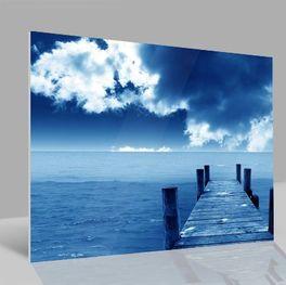 Glasbild Meer