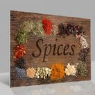 Glasbild Spices 001