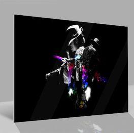Glasbild Michael Jackson