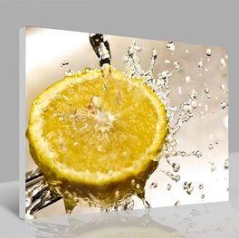 Leinwandbild Zitrone