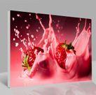 Leinwandbild Erdbeeren 001