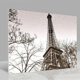 Glasbild Eiffel