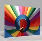 Glasbild Colorful Balloon 001