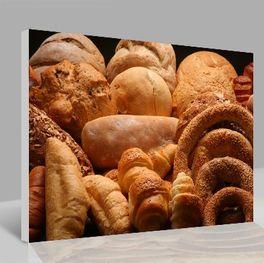 Leinwandbild Brot