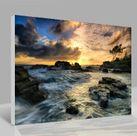 Leinwandbild Sonnenuntergang 001