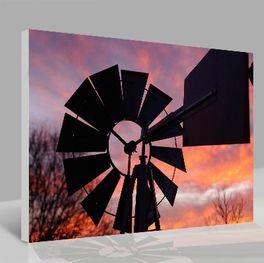Leinwandbild Windmill