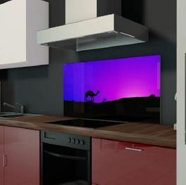 Glas Küchenrückwand