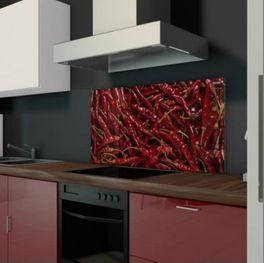 Glaswand Küche