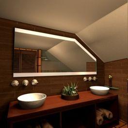 Dachschrägen Wandspiegel
