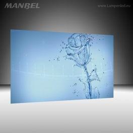 Maßgefertigtes Glasbild