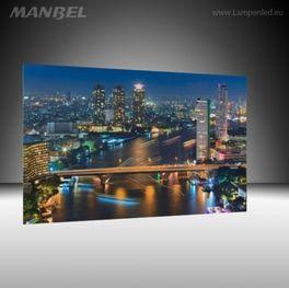 Glasbild Bangkok