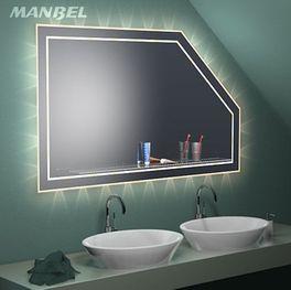 Dachschrägen-Badspiegel