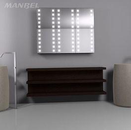 Spiegelschrank aus Massivholz