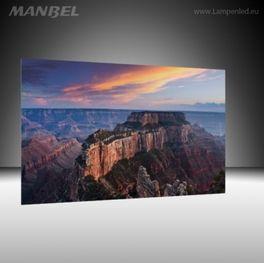 Glasbild Grand Canyon