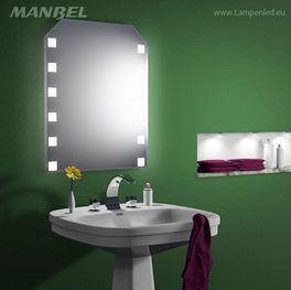 LED-Badspiegel nach Maß