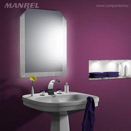 Spiegel mit LED-Beleuchtung