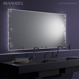 LED-Badspiegel