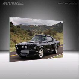 Glasbild Ford Mustang GT