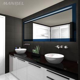 Badspiegel mit Beleuchtung