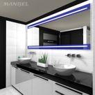 Lacobel-Spiegel mit Beleuchtung 001