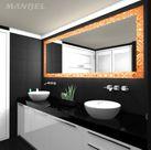 Lacobelglas-Badspiegel