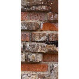 Türfolie Steinmauer