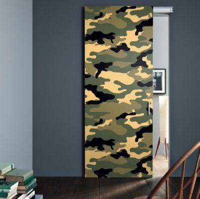 Türfolie Camouflage