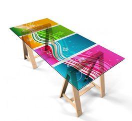 Klebefolie Tisch