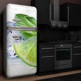 Kühlschrank Klebefolie – Bild 2