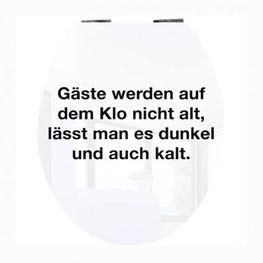 WC-Deckel Klebefolie