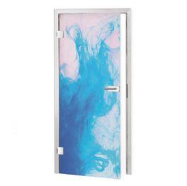 Glasfolie für Tür