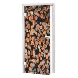 Klebefolie für Tür