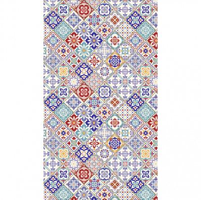 klebefolie f r duschkabine marokkanische fliesen m bel wohnen duschkabinen folien 749376. Black Bedroom Furniture Sets. Home Design Ideas