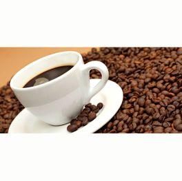 Spritzschutz Aluverbund Kaffee