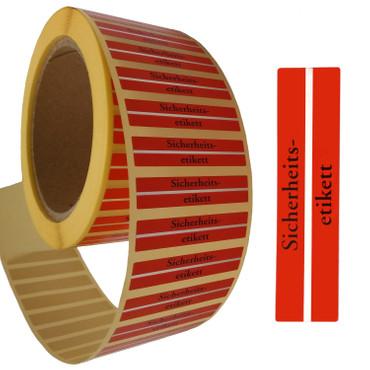 4000 Sicherungsetiketten-Dummy Klebeetiketten mit Metallstreifen Warensicherung