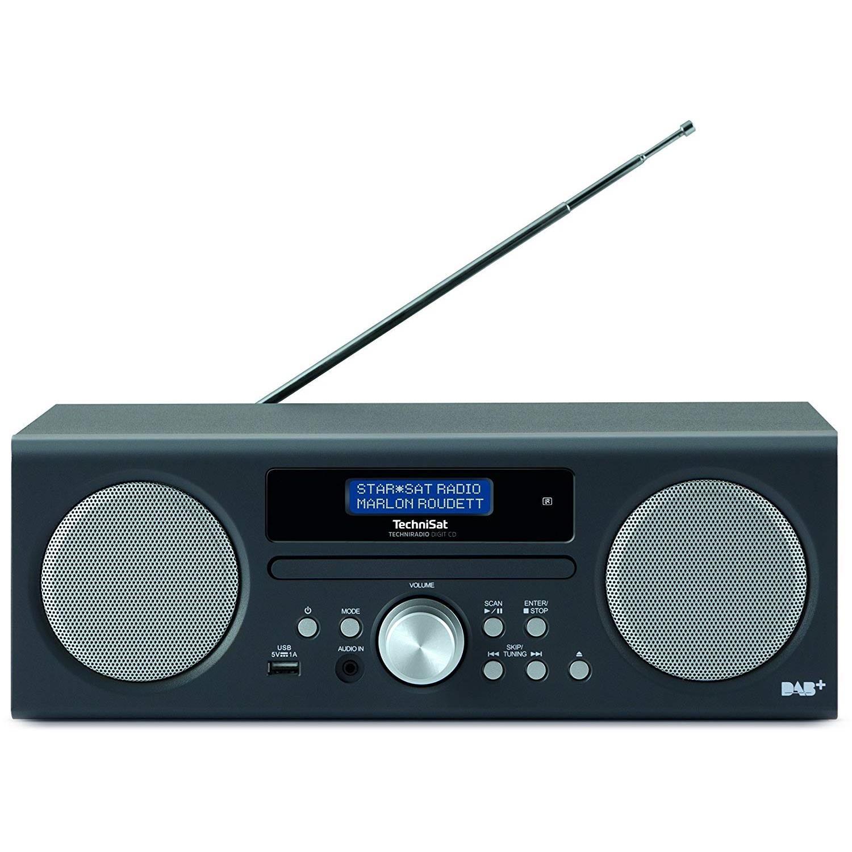 technisat techniradio digit cd player digitalradio f r. Black Bedroom Furniture Sets. Home Design Ideas