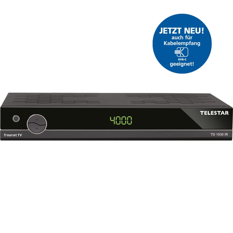 telestar td 1030 ir dvb t2 inkl freenet tv und dvb c kabel receiver usb hdmi ebay. Black Bedroom Furniture Sets. Home Design Ideas