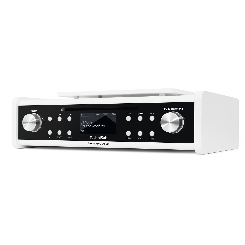 technisat digitradio 20 cd dab und ukw unterbau k chenradio mit cd laufwerk ebay. Black Bedroom Furniture Sets. Home Design Ideas