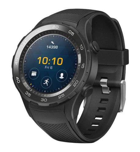 Huawei Watch 2 LEO-BX9 Sport Armband Carbon Schwarz Android