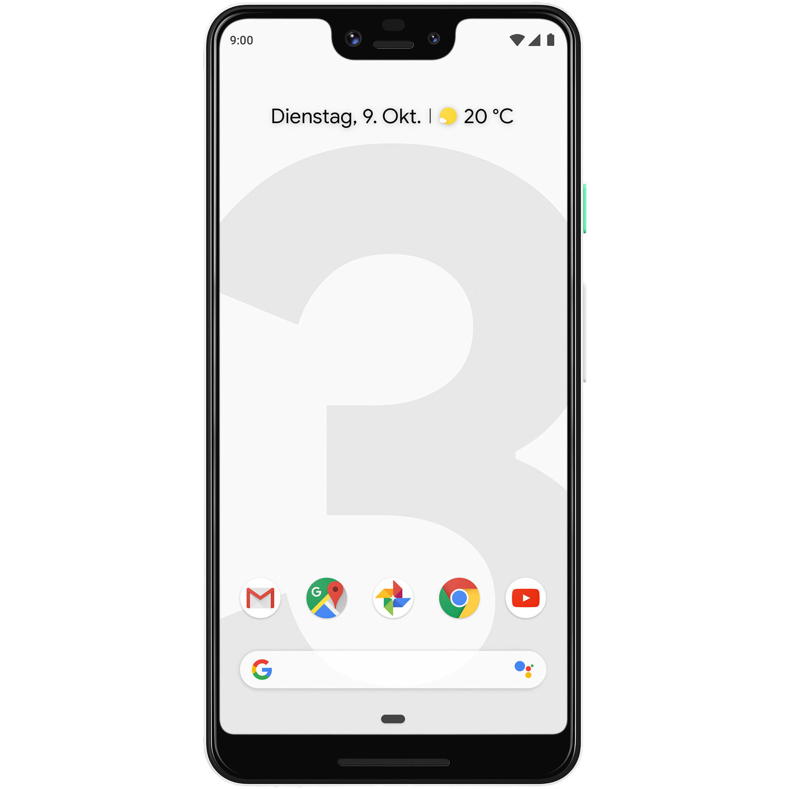 Google Pixel 3 XL 64GB Smartphone *Neu* OHNE SIMLOCK - Clearly White