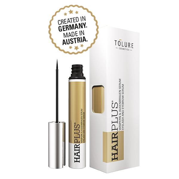 Tolure Hairplus® 3ml - Wimpern & Augenbrauenserum – Bild 1