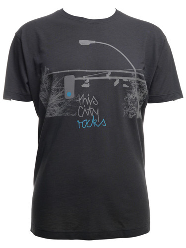 This City Rocks Herren T-Shirt Ampel