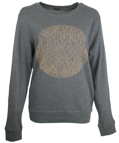 This City Rocks Sweatshirt Frauen Kreis gr/nude