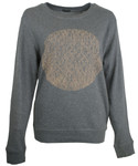 This City Rocks Sweatshirt Frauen Kreis gr/nude 001