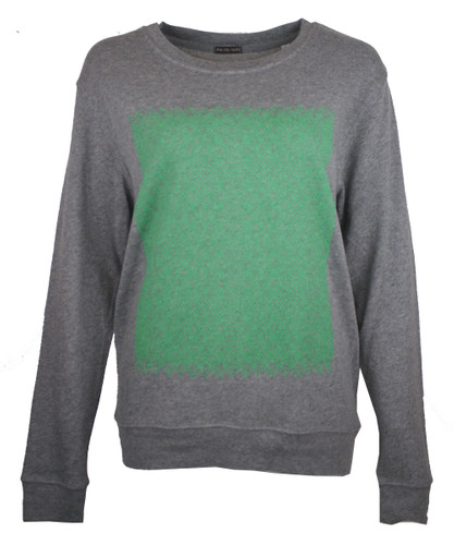 This City Rocks Sweatshirt Frauen Fernsehturm Fein grau/grün