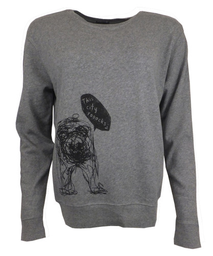 This City Rocks Sweatshirt Bär